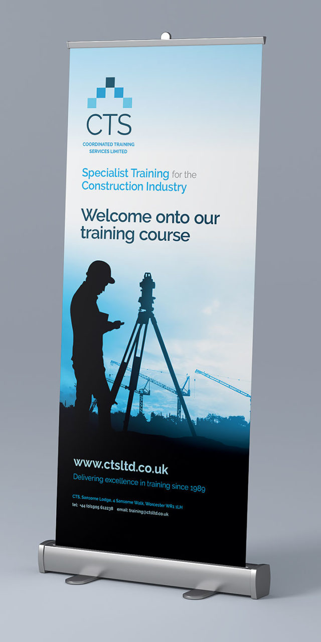 Graphic Design Droitwich Worcestershire Cts Pull Up Banner