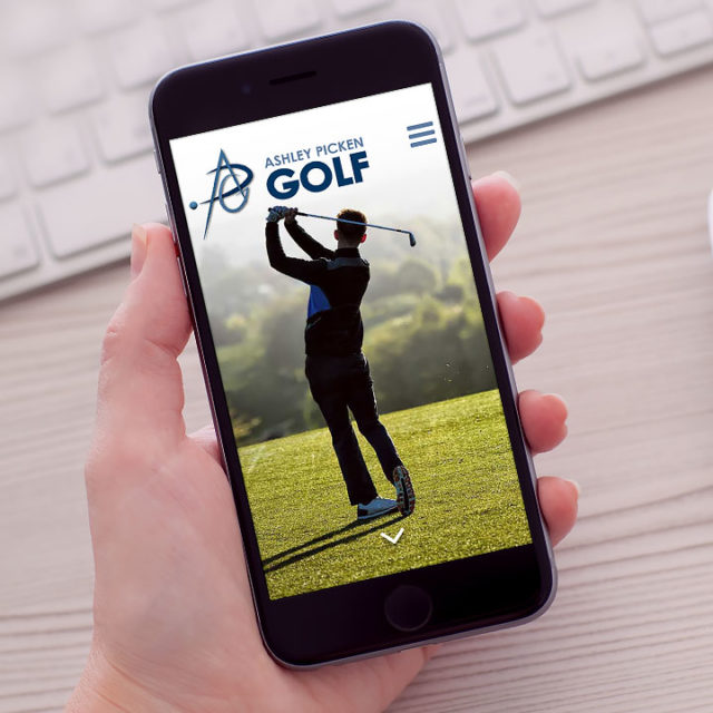 Responsive Website Design Droitwich Worcestershire Ashley Picken Golf